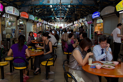 Bargain eats in Singapore